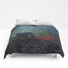 The Black Knight Prevails! Comforters