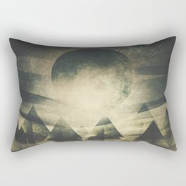 We are children of the moon Rectangular Pillow