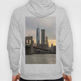 Freedom Tower and Brooklyn Bridge Hoody