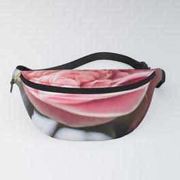 Pink Camellia Bloom Fanny Pack