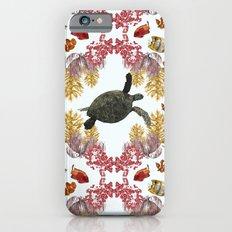 Coral Diamonds iPhone 6s Slim Case