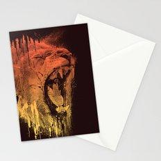 FIERCE LION Stationery Cards
