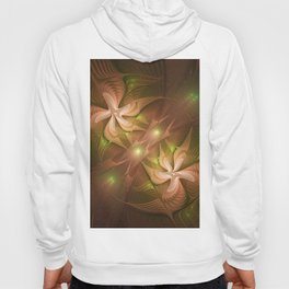 Abstract Fractal Two Dancers Hoody