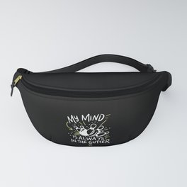 Bowling - My Mind Is Always In The Gutter Fanny Pack