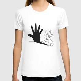 Rabbit Hand Shadow T-shirt
