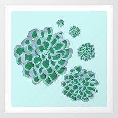 Floral Cluster Art Print