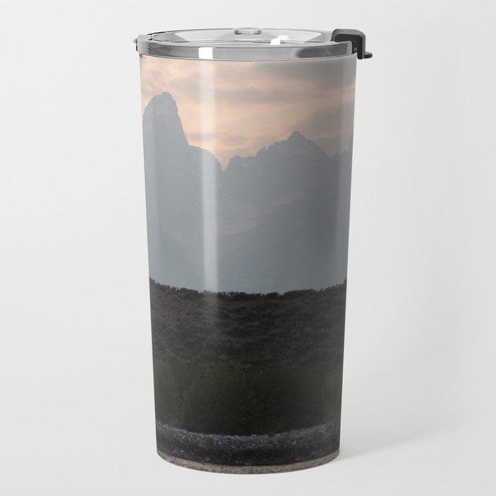 Grand Tetons by the Snake River Travel Mug