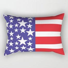 Flag of the United States of America. USA #society6 #decor #buyart #artprint Rectangular Pillow
