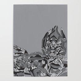 Transformers: Megatron Poster
