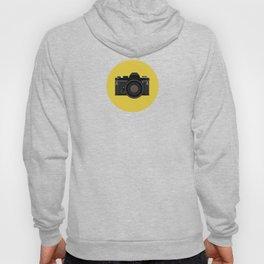 Vintage Film Camera in black Hoody