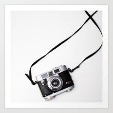Kodak Vintage Camera Art Print