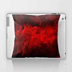Dark Red Throw Pillow Art Print 3.0 #postmodernism #society6 #art Laptop & iPad Skin