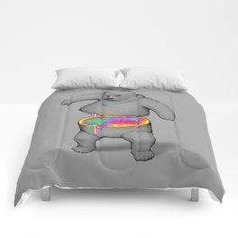 Rainbow Bear Comforters