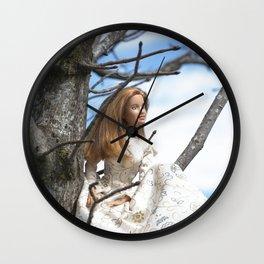 Spring Muse Wall Clock
