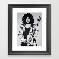Marc Bolan Framed Art Print
