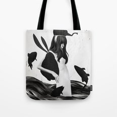 A Mile Away From Anywhere Tote Bag