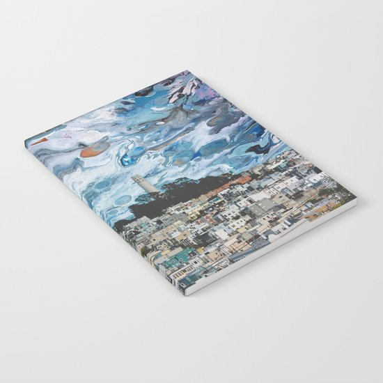 Starry Coit Tower by azaleajett