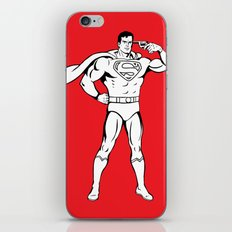 Faster Than A Speeding Bullet iPhone & iPod Skin