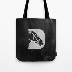 D is for Derby Tote Bag