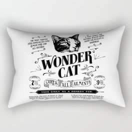 Wonder-cat Rectangular Pillow
