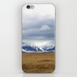 The Home of the Long White Cloud on the Road to Milford Sound iPhone Skin