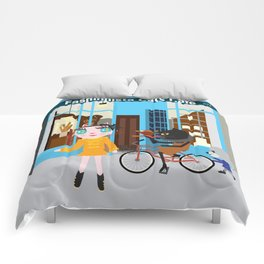 FASHIOINISTA CATS CAFE Comforters