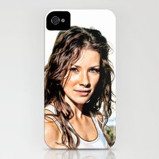 Kate from LOST (Evangeline Lilly) - Colored Pencil Work iPhone (4, 4s) Slim Case