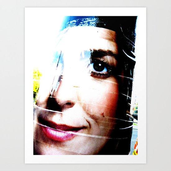 Marianne Thieme Is Watching YOU! 2-2 Art Print