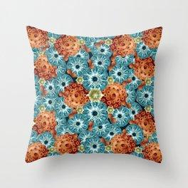 Spore galore Throw Pillow