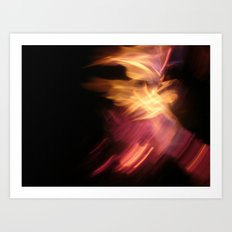 Lantern Flash Art Print