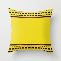 Space Invaders Throw Pillow
