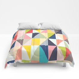 Abstract Geo Diamonds Comforters