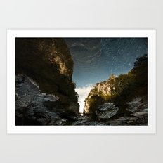 Rivers of Sky Art Print