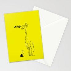 High Giraffe Stationery Cards