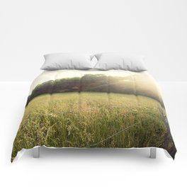 Morning in Cades Cove Comforters