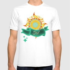 Sol Mens Fitted Tee White MEDIUM