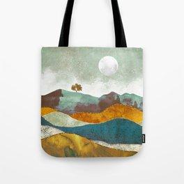 Night Fog Tote Bag