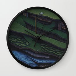The Great Divide Wall Clock