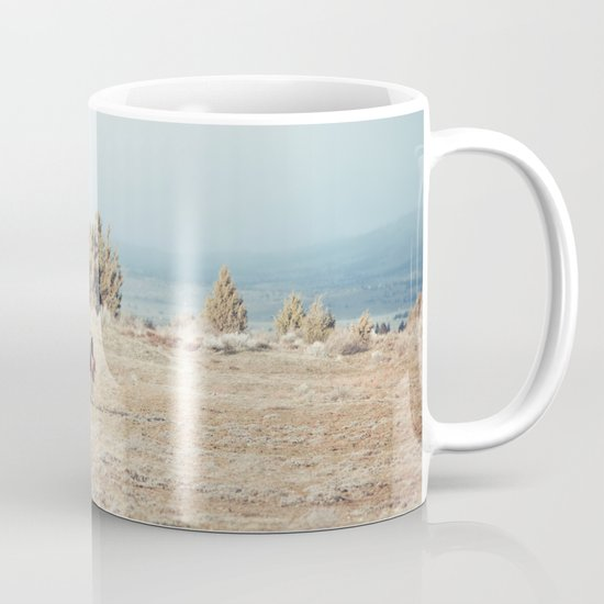 Oregon Wilderness Horses Mug