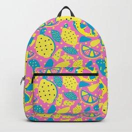 Pop Art Citrus, Summer Fruit, Lemonade, Lemon, Lime, Orange Backpack