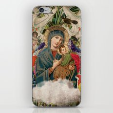 Saints Collection -- Madonna And Child iPhone & iPod Skin