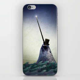 Pinky the Narwhal iPhone Skin