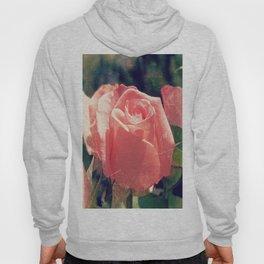Single Rose Flower Photography Hoody