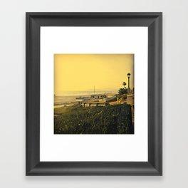 Coastal View One Framed Art Print
