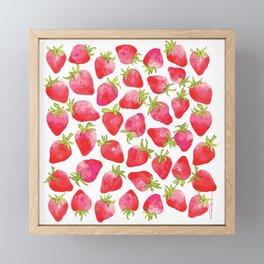 Strawberry Fields Framed Mini Art Print