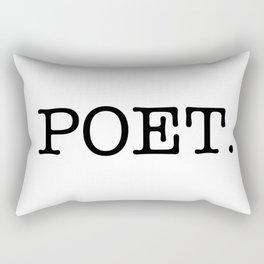 POET. Rectangular Pillow