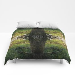 A Dream Within A Dream Comforters