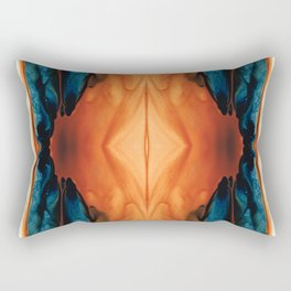 The Great Spirit - Abstract Art By Sharon Cummings Rectangular Pillow