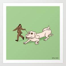 Neverending Dog Show Art Print