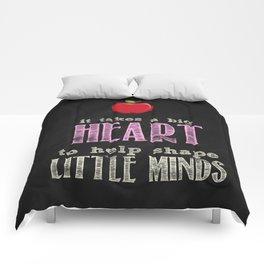 Big heart Pink Comforters